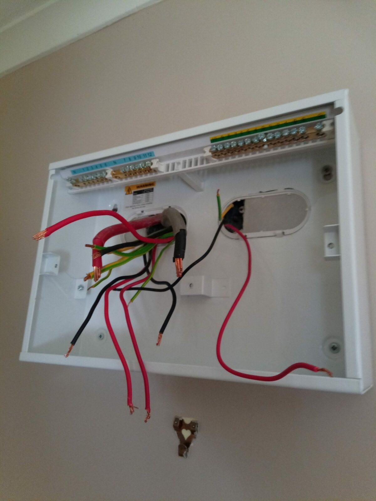 Another old fashion fuse box about to be replaced 5